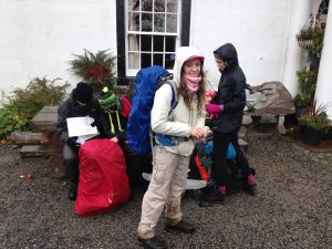 Katie on her silver Dofe